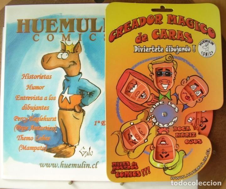 Oferta Comic Color Huemulin con Creador Magico de Comics