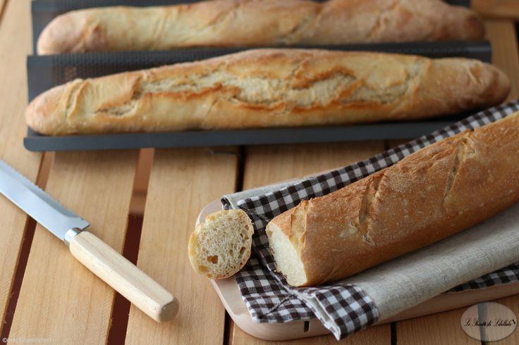 Baguette fatte in casa - Ricetta Giorilli e Bonci