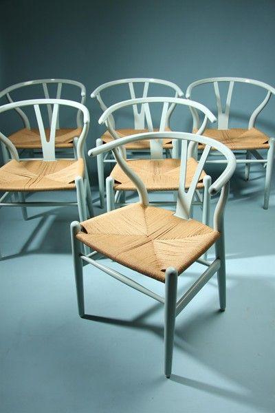 Y-chair. Desigend by Hans Wegner for Carl Hansen, Denmark. 1950's.