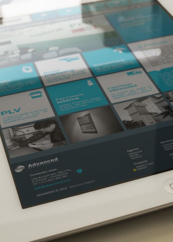 Responsive metro redesign by Yasser Achachi , via Behance