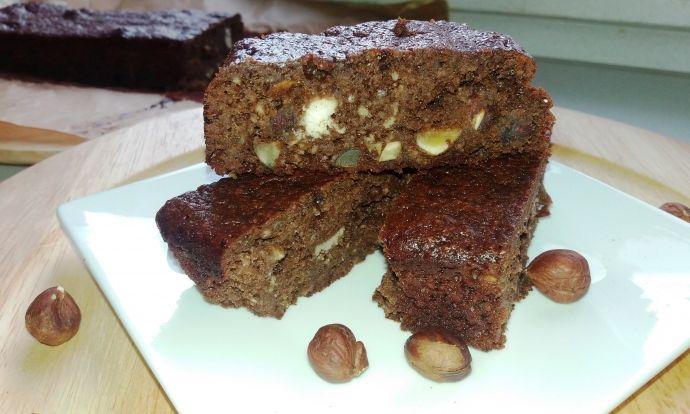Mandlové brownies bez mouky