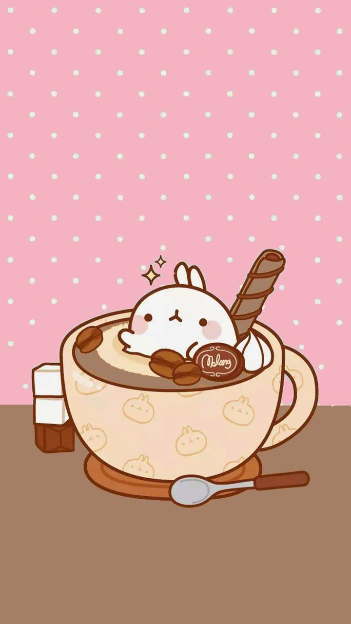 ❤LOve Pink~: Molang Espresso Wallpaper❤