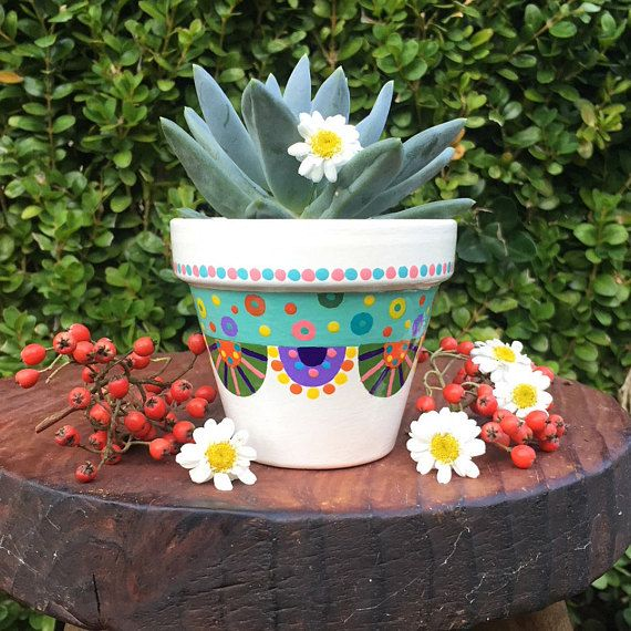 Pot de fleurs pour petites plantes