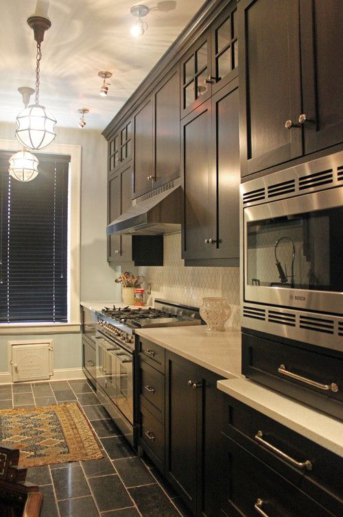 """Kitchen Stories: Blending the Old with the New - … In fact, this #kitchen #remodel turned out to be designer Julie Holzman's most dramatic """"before"""" and """"after"""" transformation… Read more of the Dura Supreme Blog."""