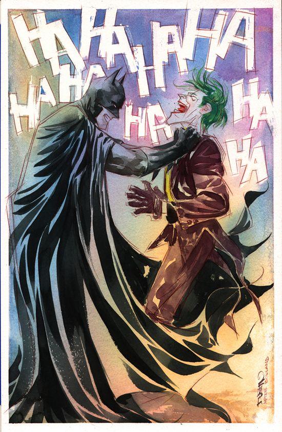 Batman vs. Joker - Dustin Nguyen