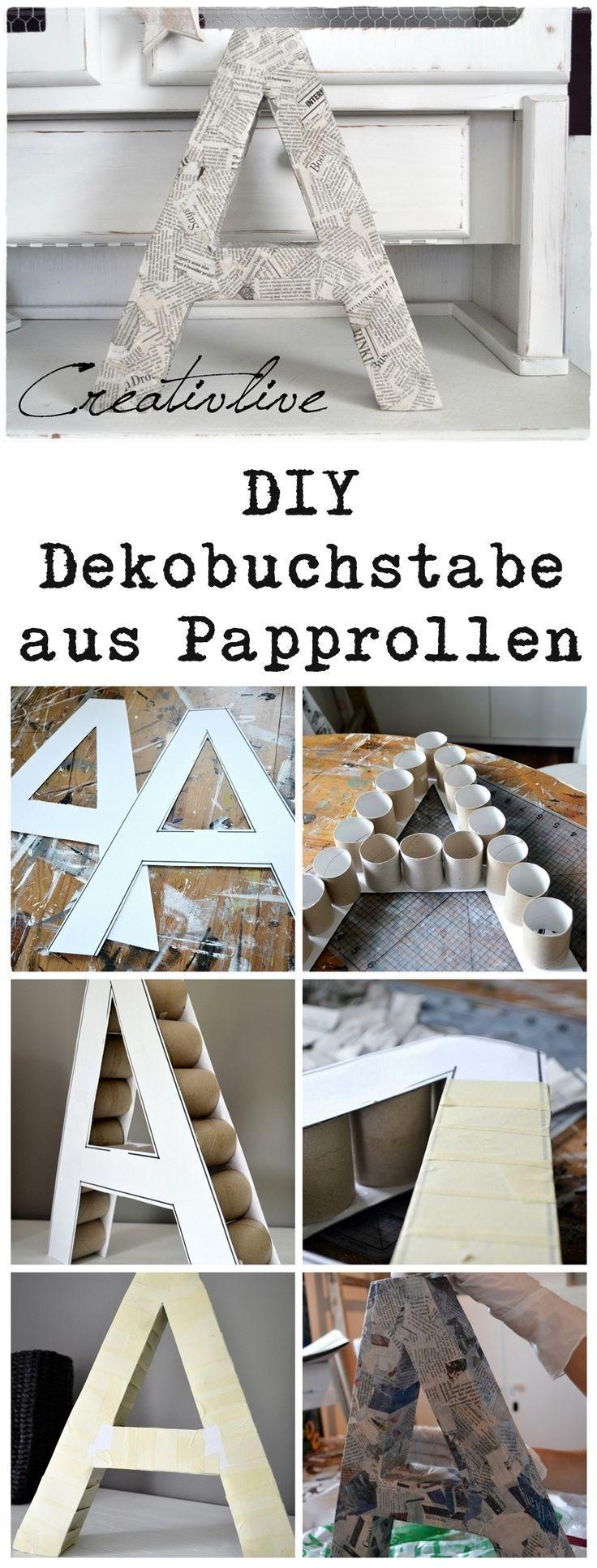 Die besten 25+ Karton Buchstaben Ideen auf Pinterest | Mit stoff ...