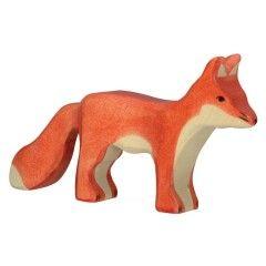 Figurine en bois Renard