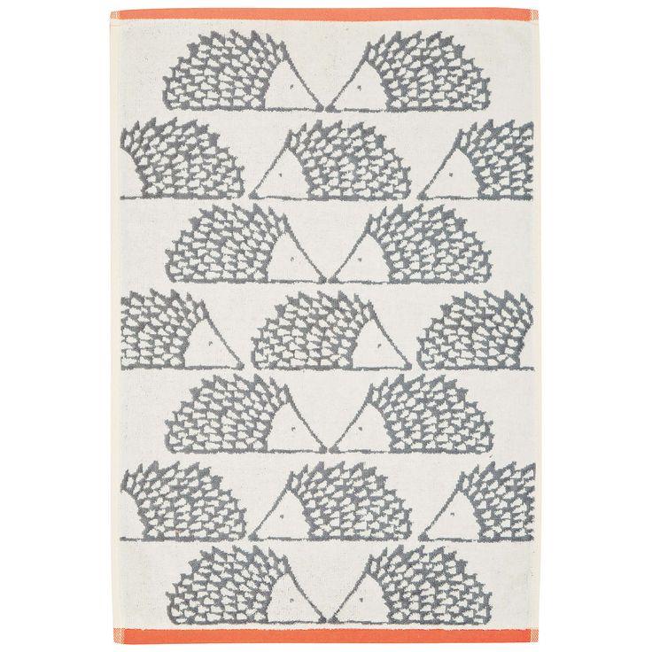 John Lewis Scion Spike Towels Towel Orange Towels