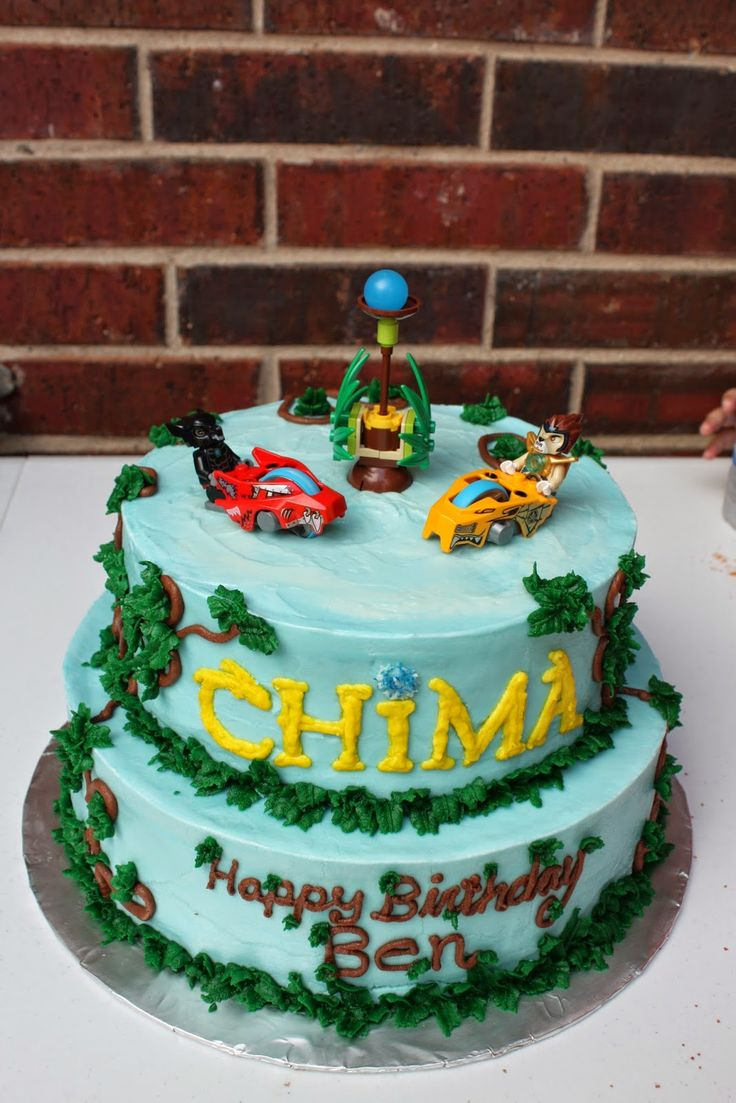 Amazon chima party supplies - Love This Chima Cake