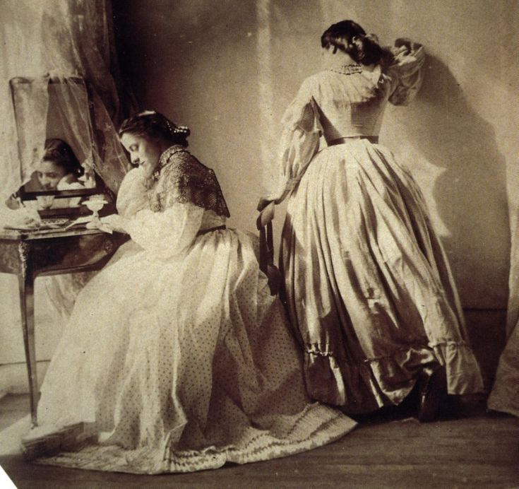 The first fashion photographer: Clementina, Lady Hawarden, who posed her daughters (from The Library Time Machine)