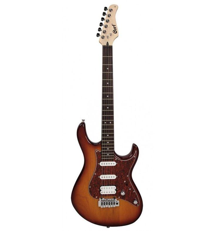 Cort G260 Aulne tobacco burst - Guitare électrique