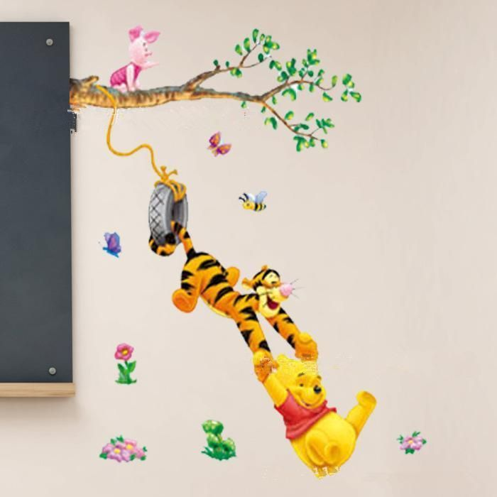 Winnie the Pooh Vinyl Wall Stickers for Kid's Rooms