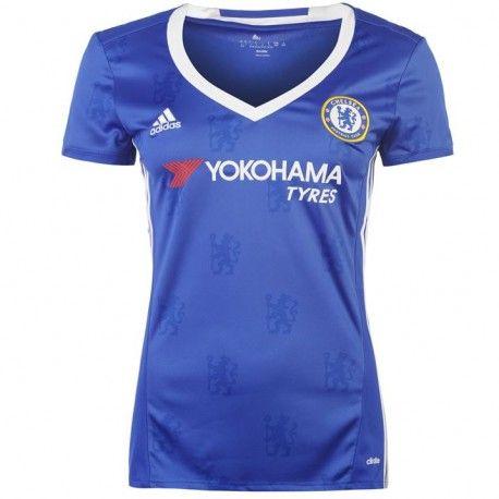 Camiseta del Chelsea para Mujer Home 2016 2017