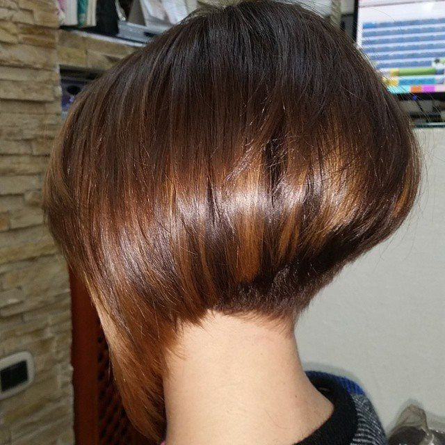 Love the asymetry of this bob