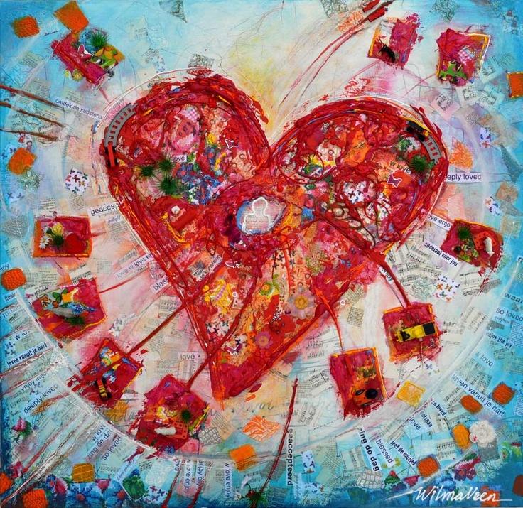 Kunstwerk (Wilma Veen) - Hart van Pasen