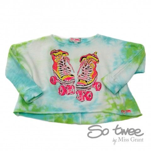 TIE AND DYE SWEATSHIRT. Sale 50% off Spring&Summer Collection!