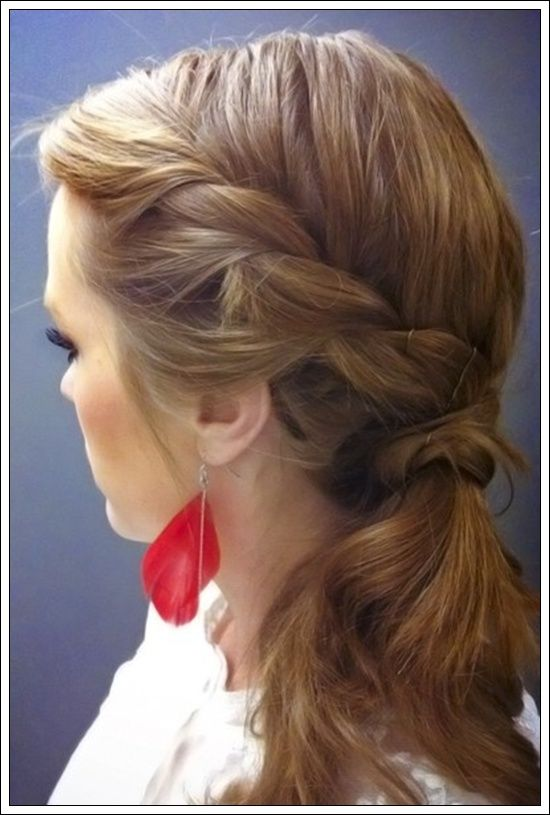 Ponytail Hairstyles For Long Hair 99 Best Ponys Images On Pinterest  Haircut Styles Cute Hairstyles