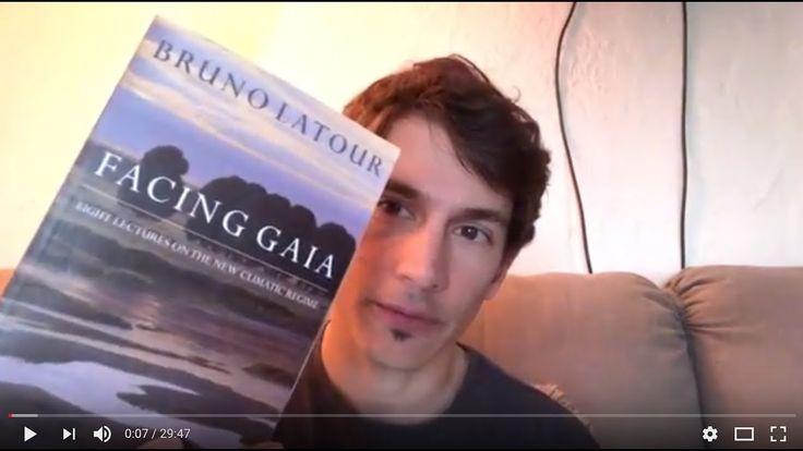 "PARP 6135 Module 5 Lecture on Bruno Latour's ""Facing Gaia"""