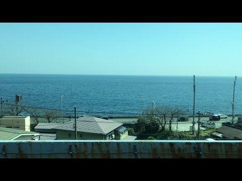 【長時間】上野東京ライン最長列車1586E熱海→黒磯 E233系モハE232-3420 全区間ノーカット右側(海側)車窓走行音 - YouTube