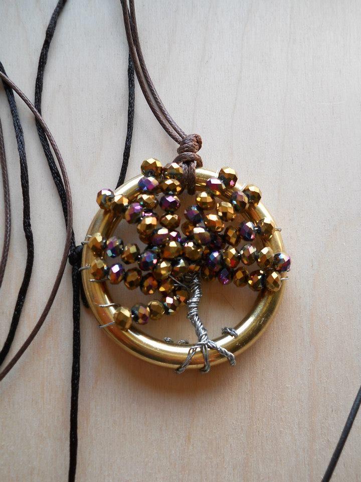 ciondolo con albero della vita - life tree pendant