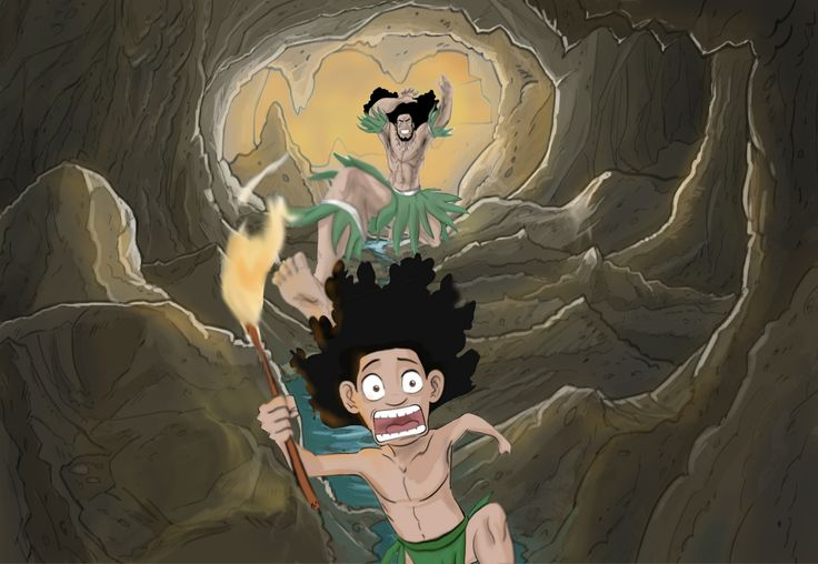 Maui's dad hid the secret of fire from him. Why would a dad do that?! http://readingwarrior.com/we-are-the-rock/