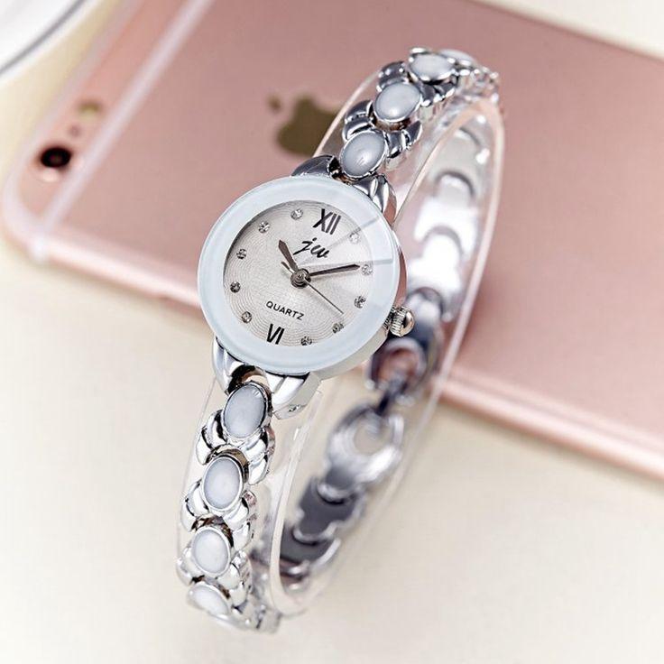>> Click to Buy << luxury Fashion Women's watches quartz watch bracelet wristwatches stainless steel bracelet women watches with relogio masculino #Affiliate