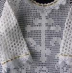 Схемы вязания крючком крестильная рубашка