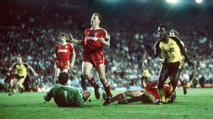 It's up for grabs noooooooowww! Michael Thomas (Arsenal v Liverpool, Anfield, 1989)