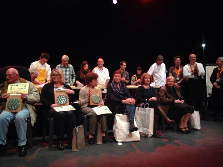 """Concours mondial amateur du gâteau breton""""le lorientais"""" 2016  finale des champions organisé par Emglev Bro an Oriant et la confrèrie du gâteau breton """"le lorientais"""""""