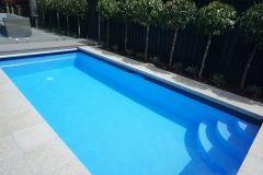 custom made small swimming pool by Mayfair Pools Canterbury