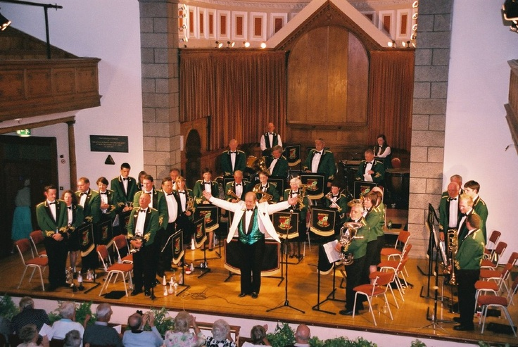 Guernsey's only brass band the Guernsey Concert Brass can be seen at St James on Saturday 6 April