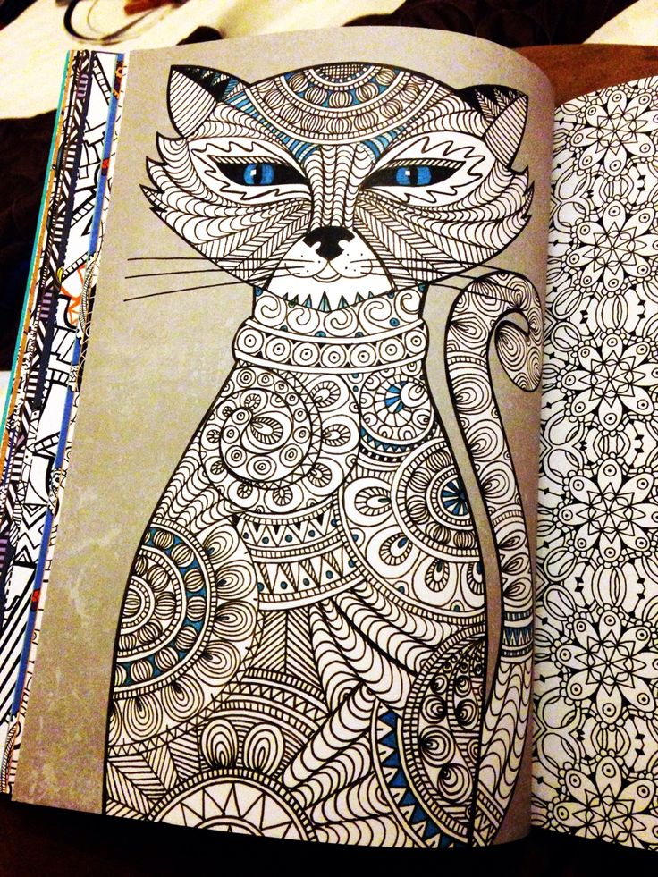 For Those Asking This Is My New Art Therapy Book Half Of It Colouring In The Other Doodling