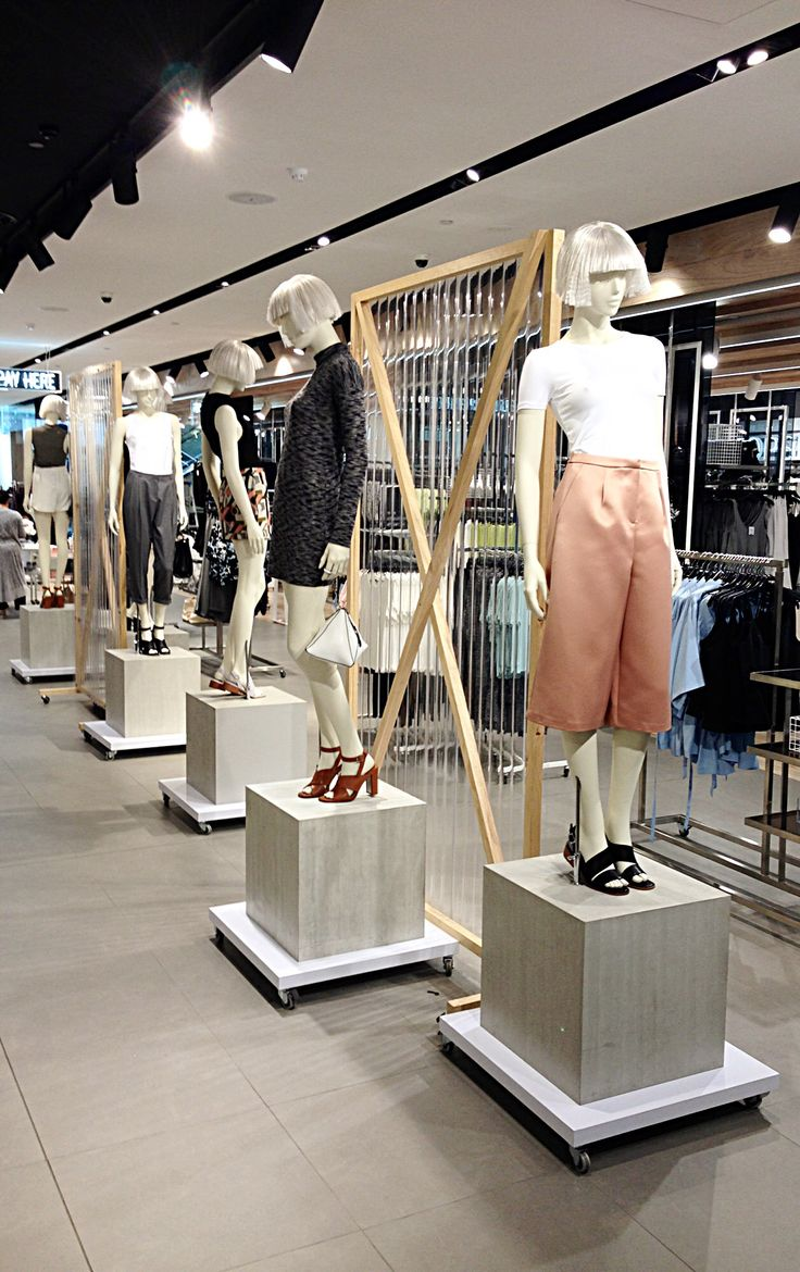City Edit styling at TOPSHOP  Melbourne