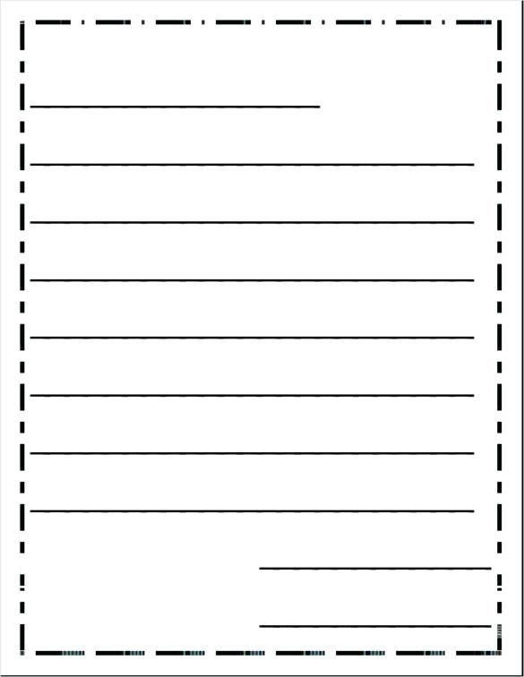 Printable Letter Writing Templates from i.pinimg.com