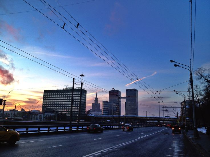 Moscow winter!