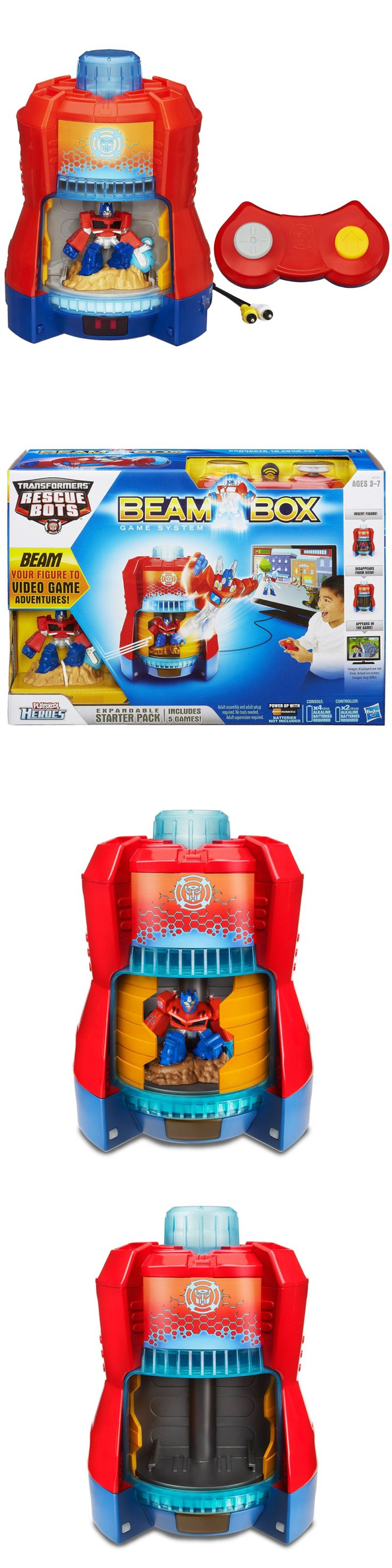Rescue Heroes 50307: Playskool Heroes Transformers Rescue Bots Beam Box Game System -> BUY IT NOW ONLY: $37.5 on eBay!