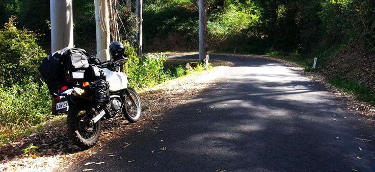 Nimbin High Country Suzuki DR650 Australian Adventure Oz Trip Touring Motorcycle