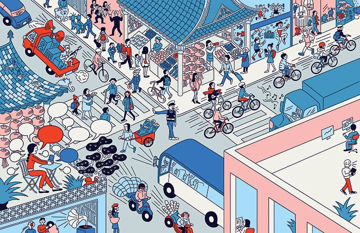 It's Nice That | Modern life as told by Tomi Um's tidy lines and sense of humour