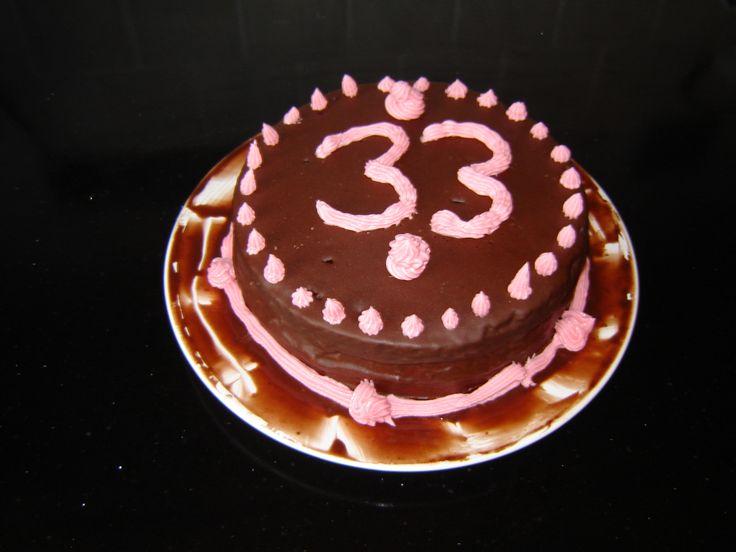 Wendy's Chocolate Birthday Cake 2011.