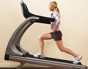 Burn 60% more calories - treadmill walking workout