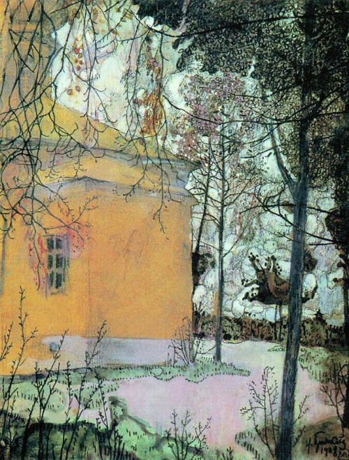 "Isaak Brodsky ""Church"""