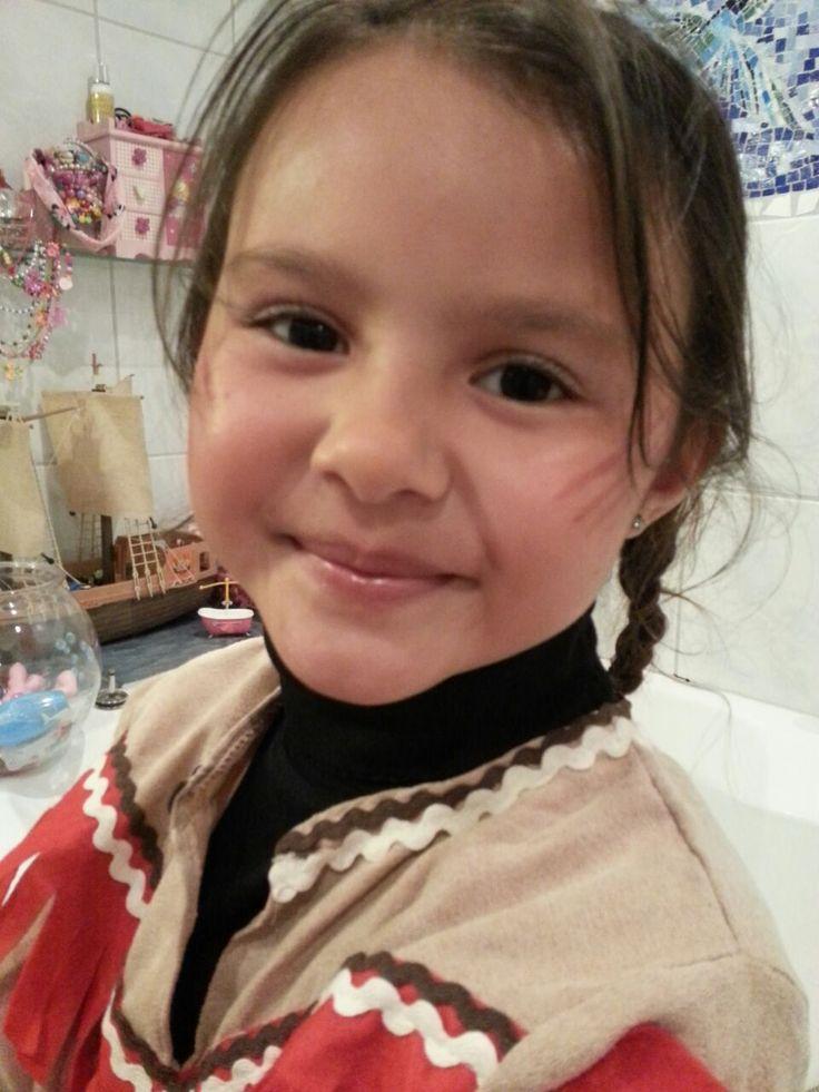Carnaval 2016 - my little indian girl