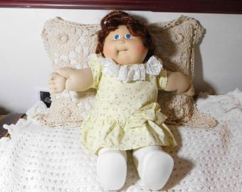 Cabbage Patch Doll, Dimpled, Tooth, Red Haired Cabbage Patch Doll, Vintage Cabbage Patch Doll, Vintage Doll, Vintage Toys, :)*