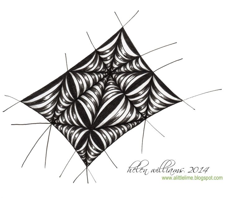 "516 best Zentangle Art - Tangles ""S"" images on Pinterest"