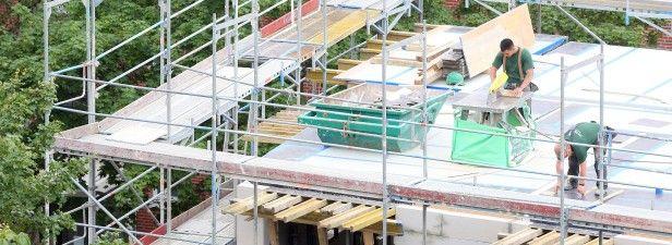 Normalwohnung kostet in Bottrop 190000 Euro:  Das zahlen Bottroper für eine durchschnittliche Neubau-Immobilie mit 80 Quadratmetern Wohnfläche. Bausparkasse gibt Preis-Überblick. Foto: Bodo Marks