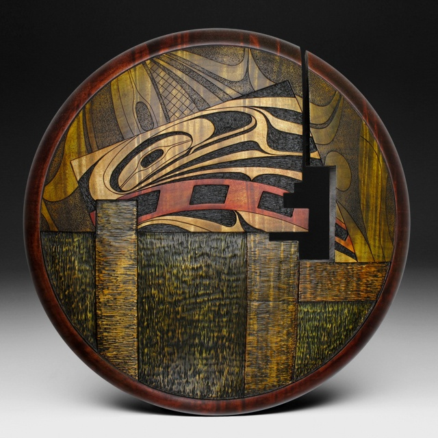 A Segmented Life a wall sculpture by Douglas J. & 339 best Turned Wood - Flats images on Pinterest | Turned wood ...