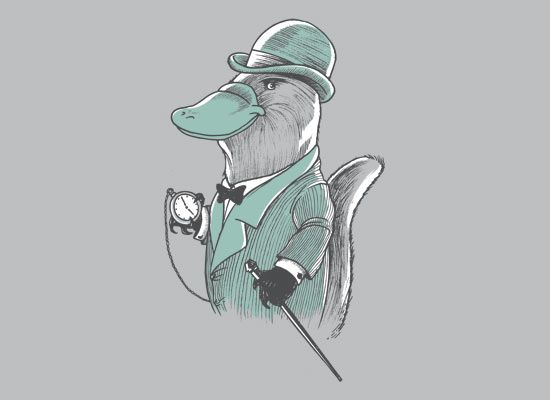 What I imagine General Platypus would wear on off-duty days.