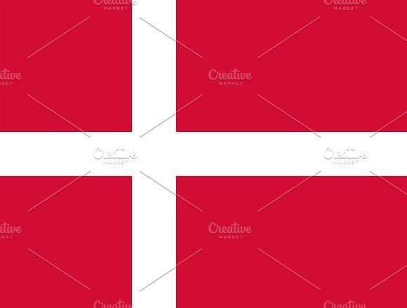 Flag of Denmark. Europe #flags