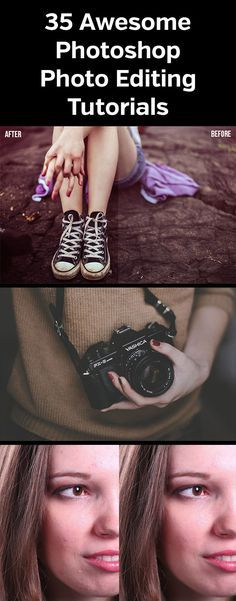 35 Awesome Photoshop Photo Editing Tutorials                                                                                                                                                                                 More