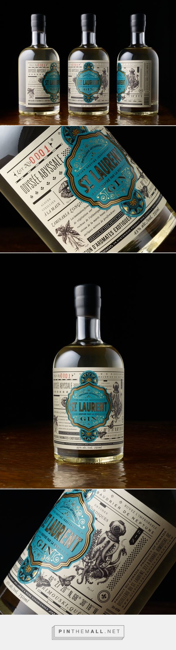 St. Laurent Gin on Behance - created via https://pinthemall.net